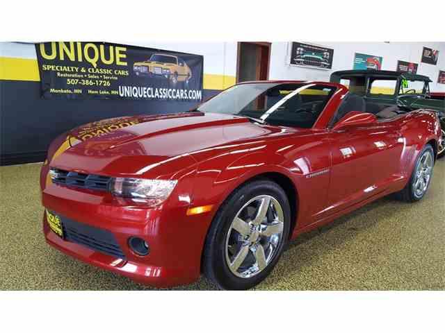 2014 Chevrolet CAMARO LT Convertible | 1014354