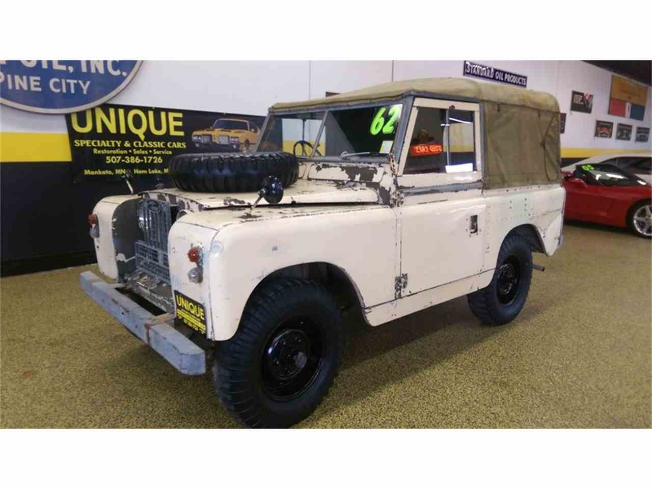1962 land rover series iia 88 rhd for sale cc 1014433. Black Bedroom Furniture Sets. Home Design Ideas