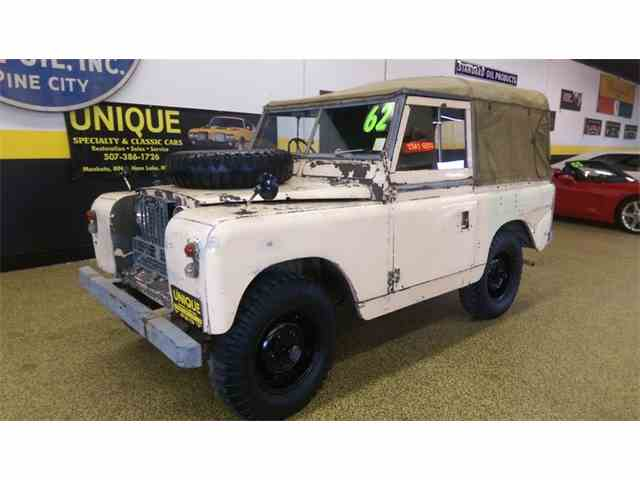 1962 Land rover Series IIA    88 RHD | 1014433