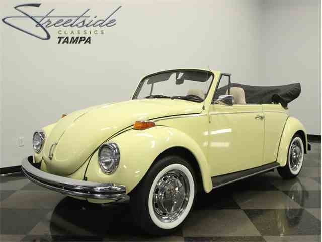 1971 Volkswagen Super Beetle Convertible | 1014446