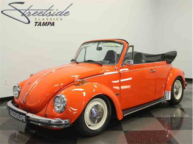 1973 Volkswagen Super Beetle Convertible | 1014481