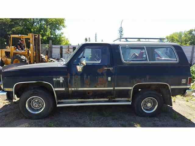 1984 Chevrolet Blazer    K10 Utility HT   1014556