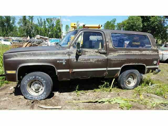 1984 Chevrolet Blazer    K10 Utility HT   1014557