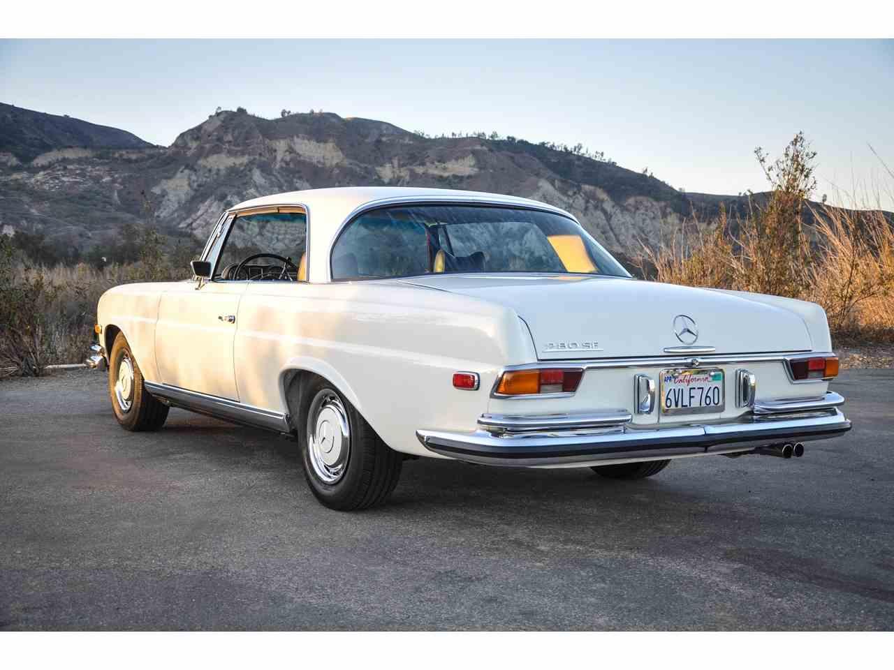 1970 mercedes benz 280se for sale cc for Mercedes benz costa mesa