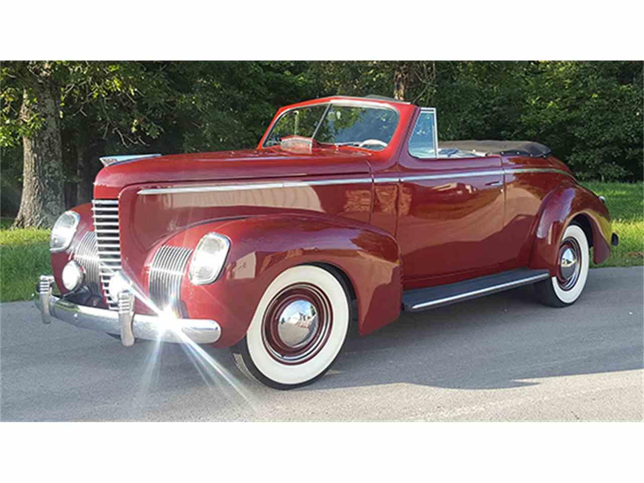 1939 nash lafayette cabriolet for sale cc 1015441. Black Bedroom Furniture Sets. Home Design Ideas