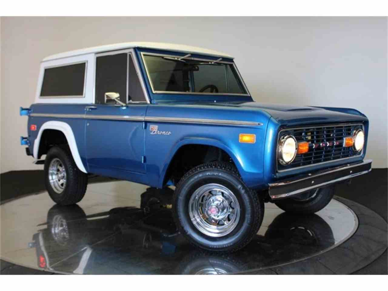 1970 ford bronco for sale cc 1015503. Black Bedroom Furniture Sets. Home Design Ideas