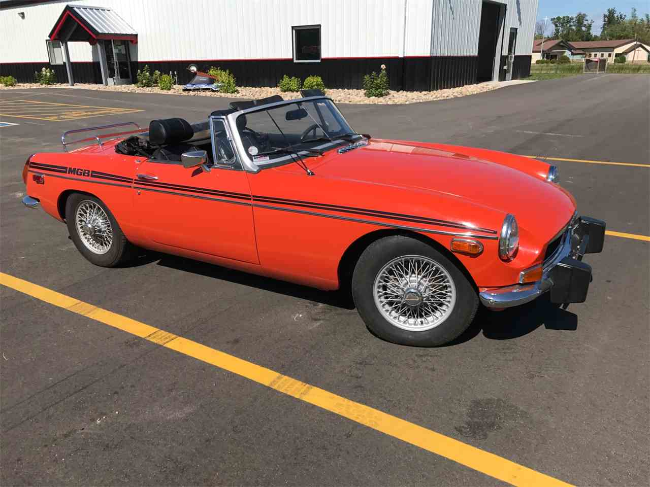 Large Picture of 1974 MGB located in Brainerd Minnesota Offered by High Rollers Hot Rods and Classics - LRN8