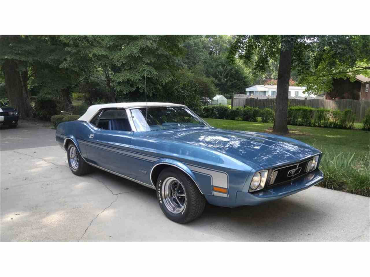 Large Picture of '73 Mustang - LRNL