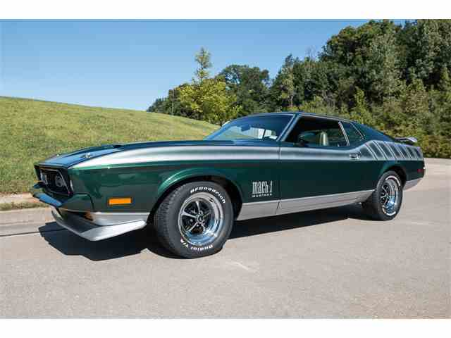 1972 Ford Mustang Mach 1 | 1015630