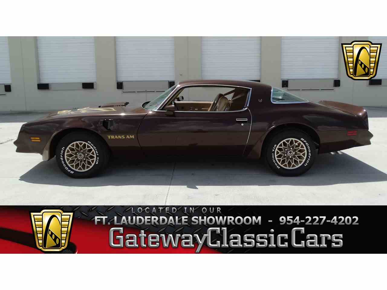 Large Picture of 1977 Firebird Trans Am - $36,995.00 Offered by Gateway Classic Cars - Fort Lauderdale - LRTC