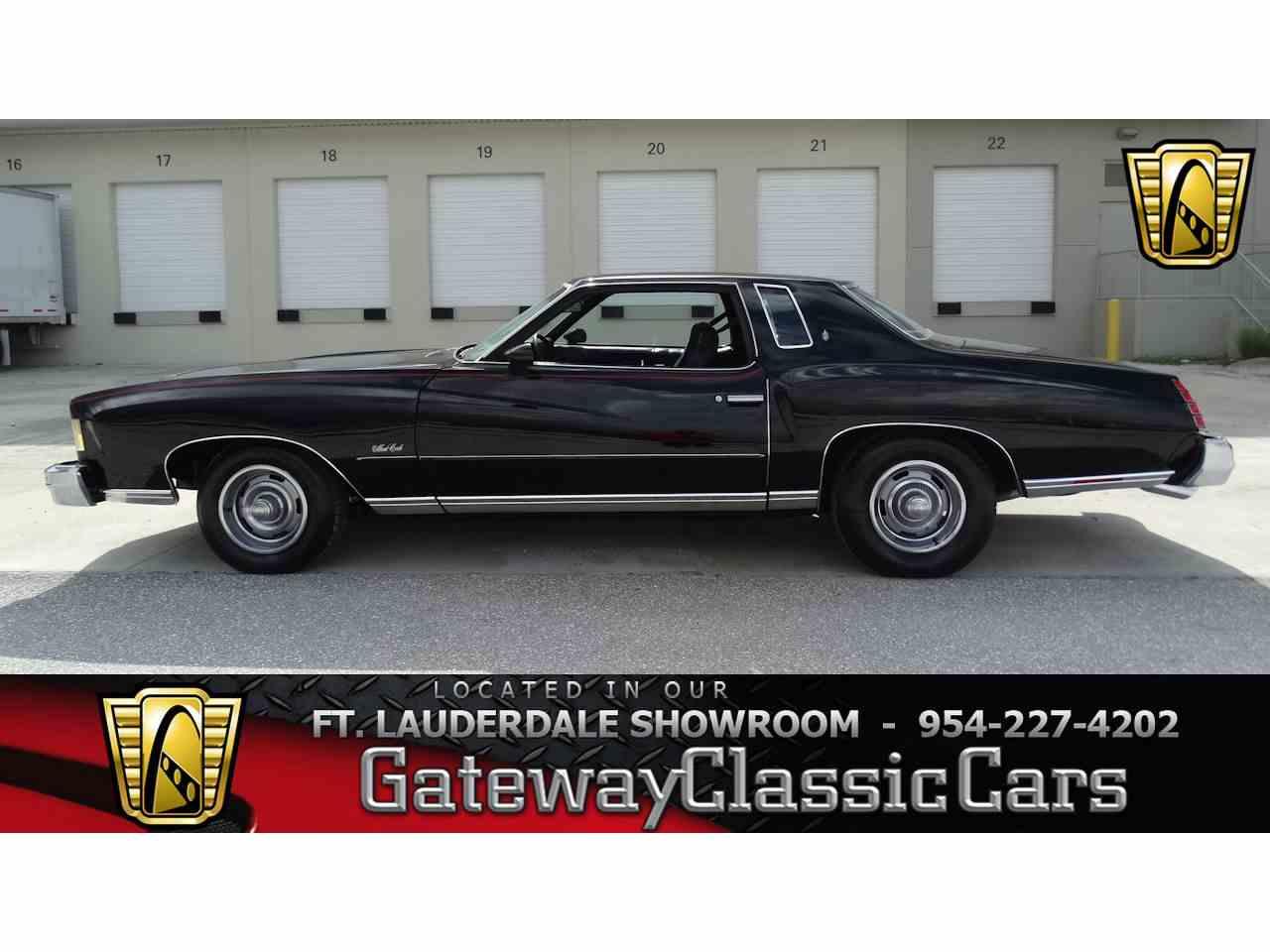 1975 Chevrolet Monte Carlo for Sale - CC-1015825