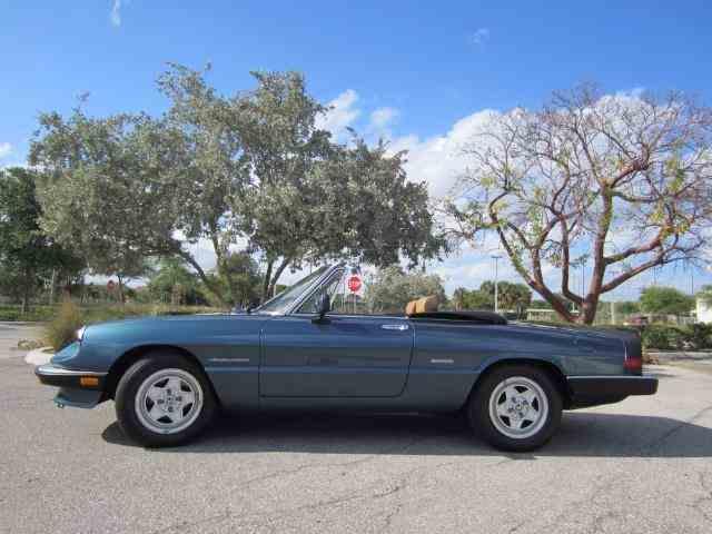 1986 Alfa Romeo Spider Veloce | 1015932