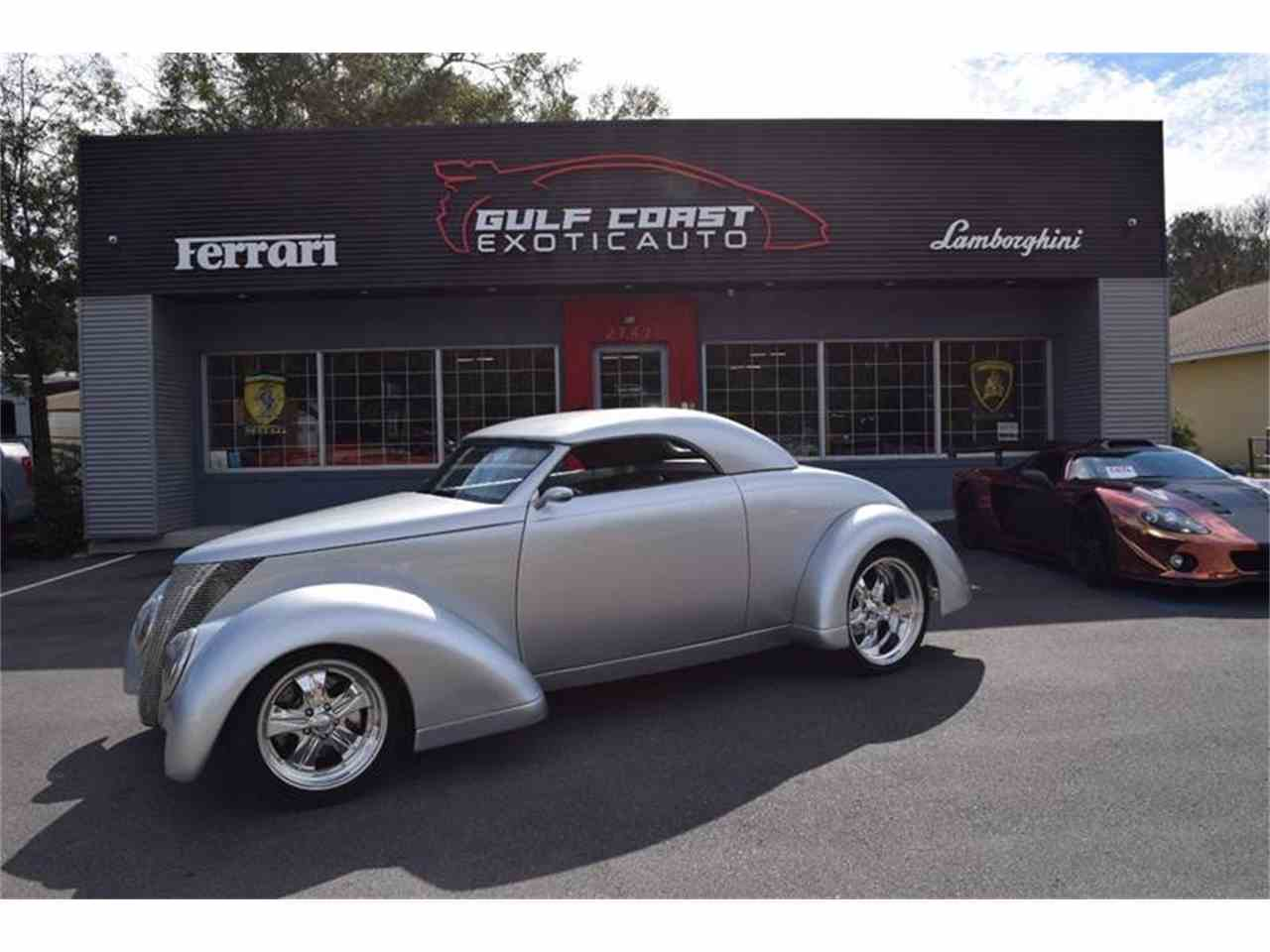 Large Picture of 1937 Ford Custom Coupe located in Biloxi Mississippi - $88,500.00 - LRXL