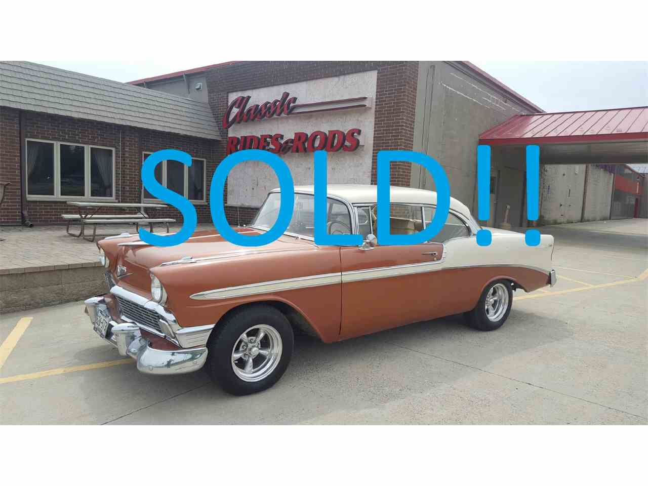 Large Picture of '56 Bel Air located in Annandale Minnesota Offered by Classic Rides and Rods - LS51