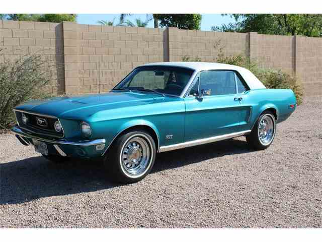 1968 Ford Mustang   1016404