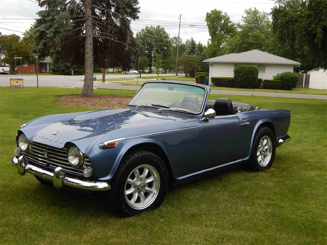 1966 triumph tr4 for sale cc 1016489. Black Bedroom Furniture Sets. Home Design Ideas