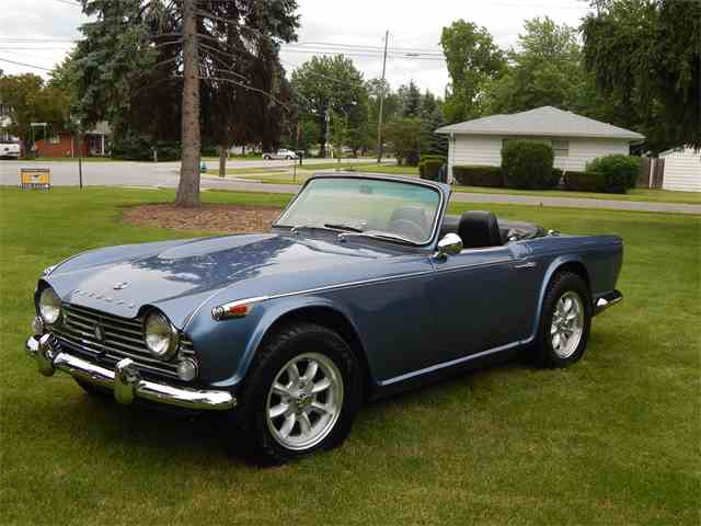 Picture of '66 TR4 - LSBT