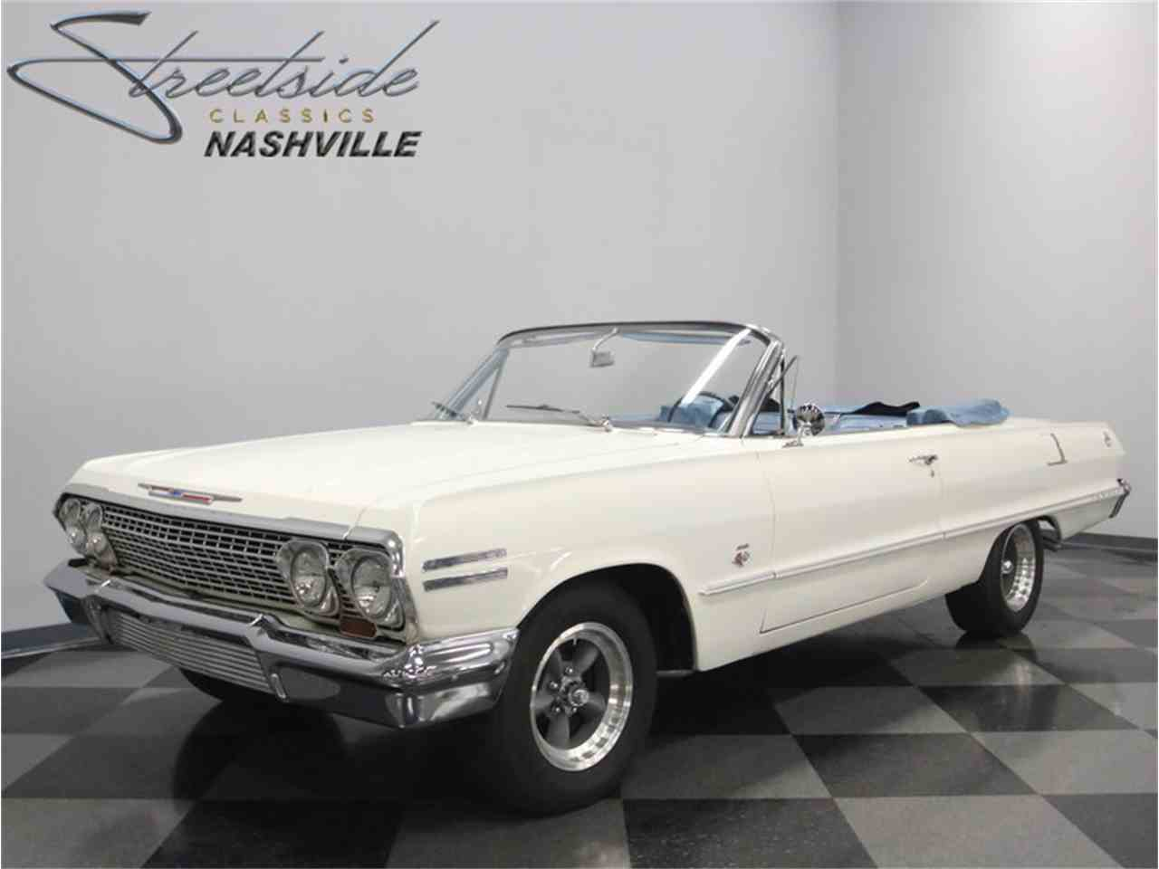 Large Picture of Classic 1963 Impala located in Tennessee - LSJ3