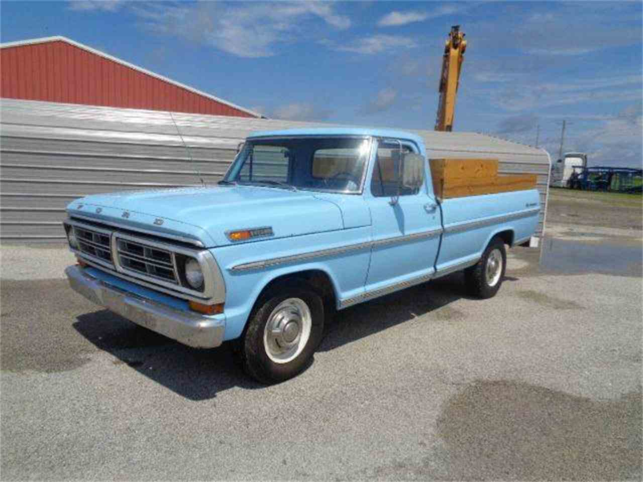 Large Picture of Classic 1972 F250 located in Staunton Illinois - $7,550.00 Offered by Country Classic Cars - LSJL