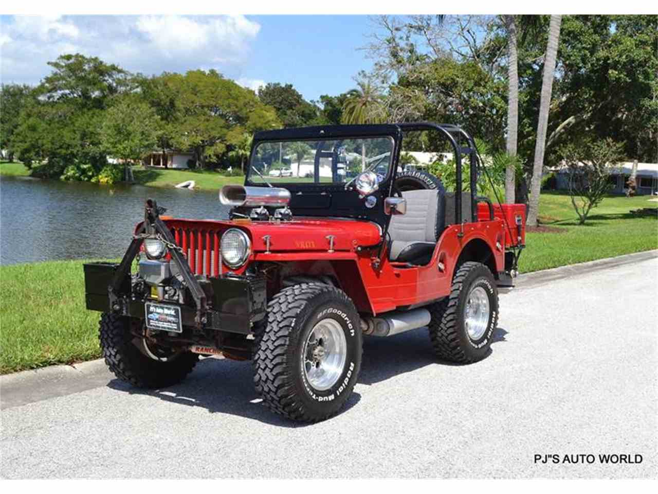 1953 willys jeep for sale cc 1016775. Black Bedroom Furniture Sets. Home Design Ideas