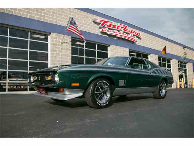 1972 Ford Mustang Mach 1 | 1010681