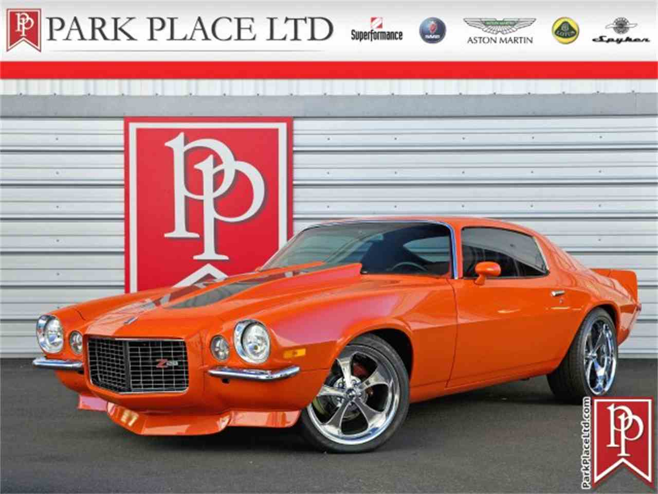 Large Picture of 1972 Chevrolet Camaro located in Bellevue Washington Auction Vehicle - LSO0