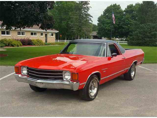 1972 chevrolet el camino for sale on 24. Black Bedroom Furniture Sets. Home Design Ideas