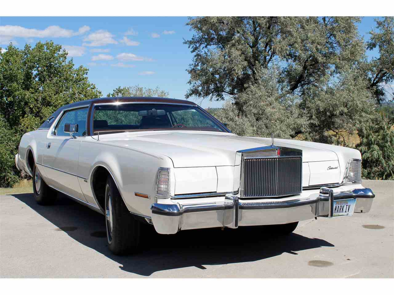 Large Picture of '74 Lincoln Continental Mark IV located in Great Falls Montana - $18,000.00 - LSRB