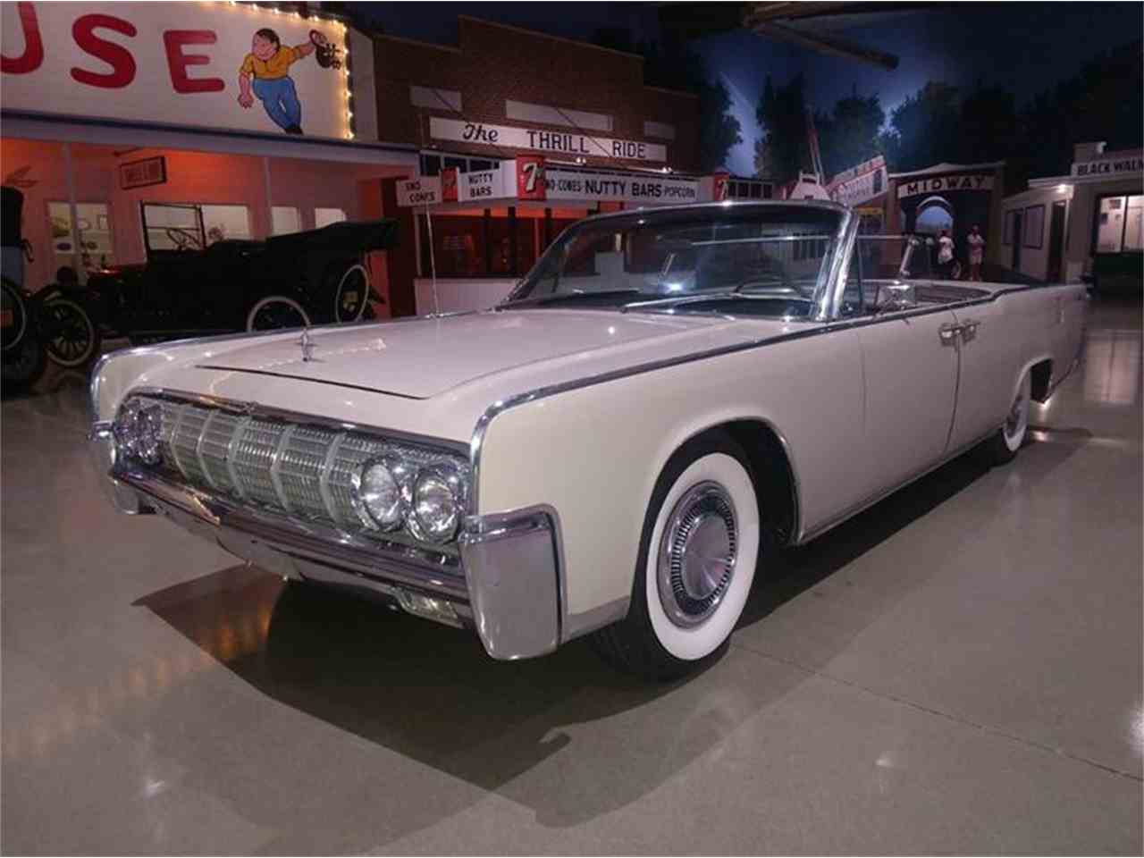 1964 lincoln continental for sale cc 1017094. Black Bedroom Furniture Sets. Home Design Ideas