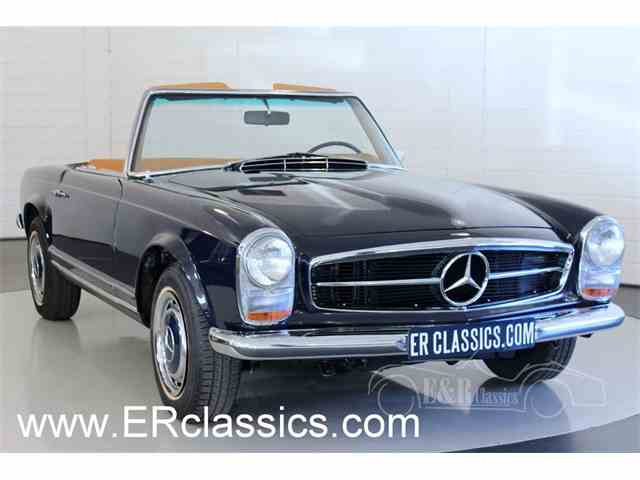 classic mercedes benz 280sl for sale on 51 available. Black Bedroom Furniture Sets. Home Design Ideas