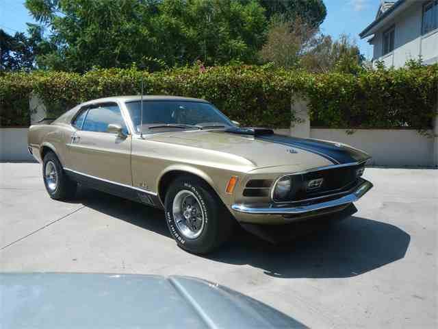 1970 Ford Mustang Mach 1 | 1017169
