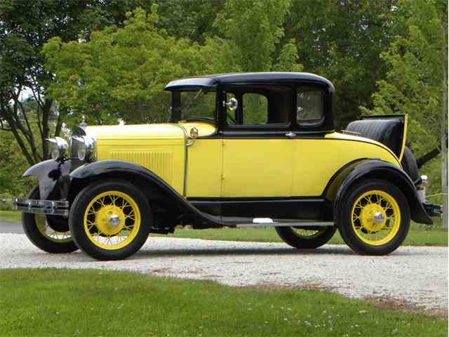 1930 Ford Model A Deluxe Coupe | 1010724