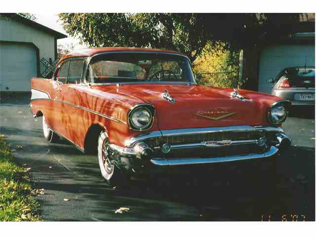 1957 Chevrolet Bel Air Sport Coupe   1017314
