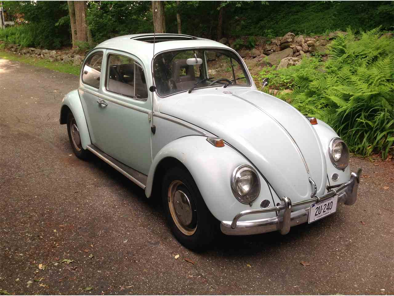 1966 volkswagen beetle for sale cc 1017317. Black Bedroom Furniture Sets. Home Design Ideas