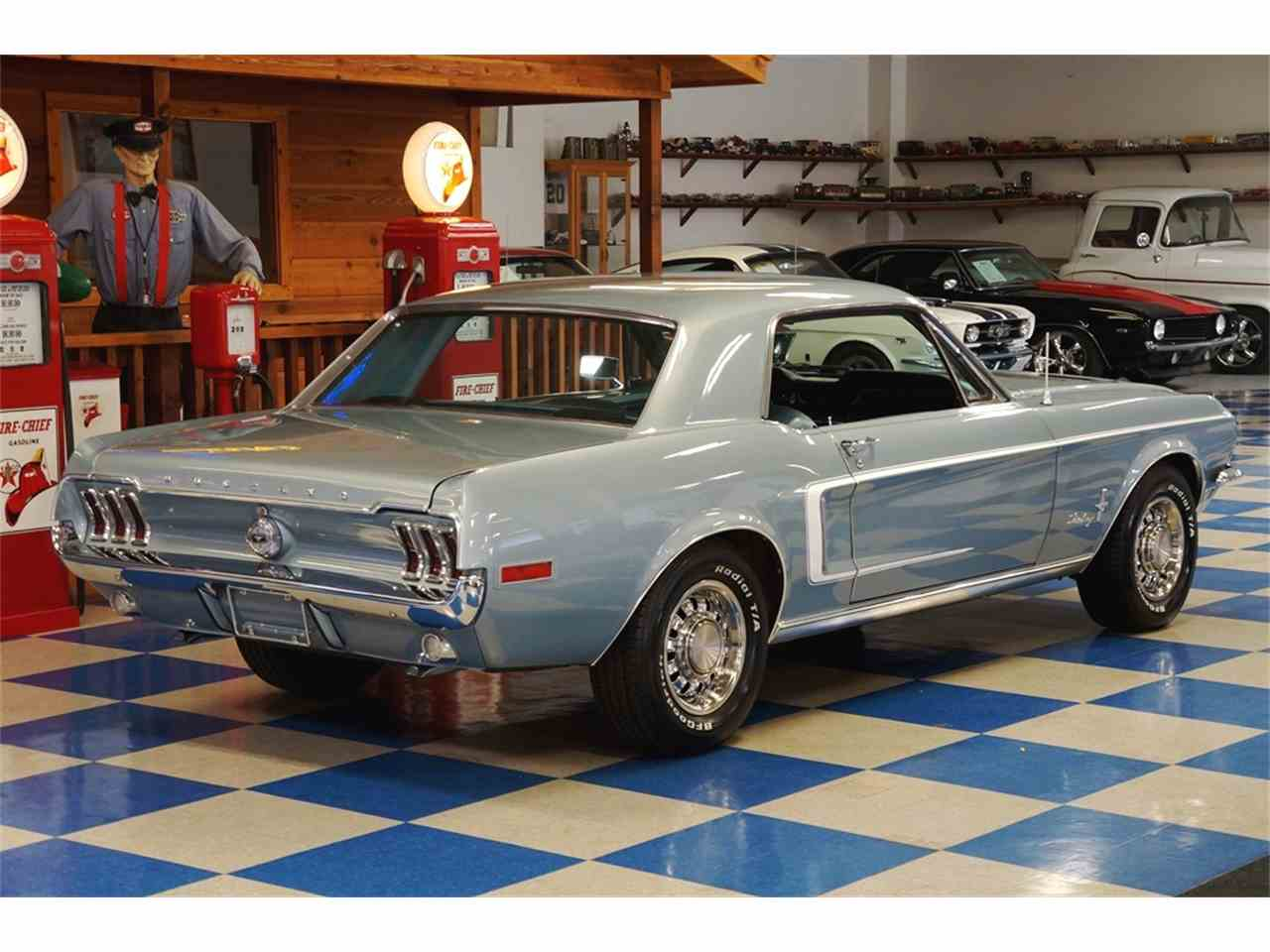 Large Picture of '68 Mustang - LSZA