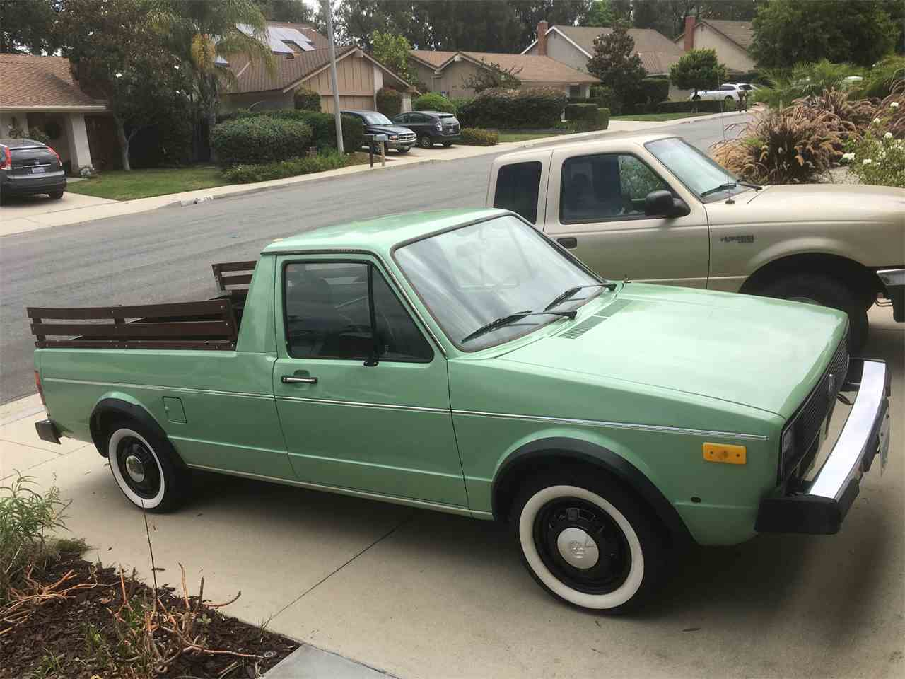 1980 Volkswagen Rabbit Pickup For Sale Classiccars Com