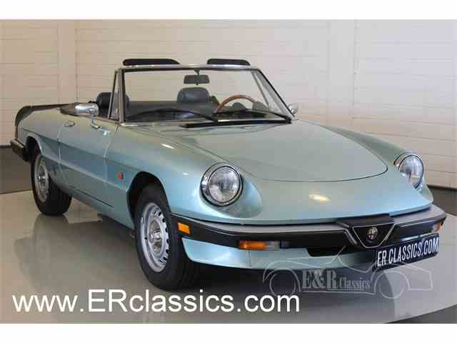 1985 Alfa Romeo Spider | 1017341