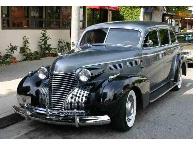1940 Cadillac Series 72 | 1010074