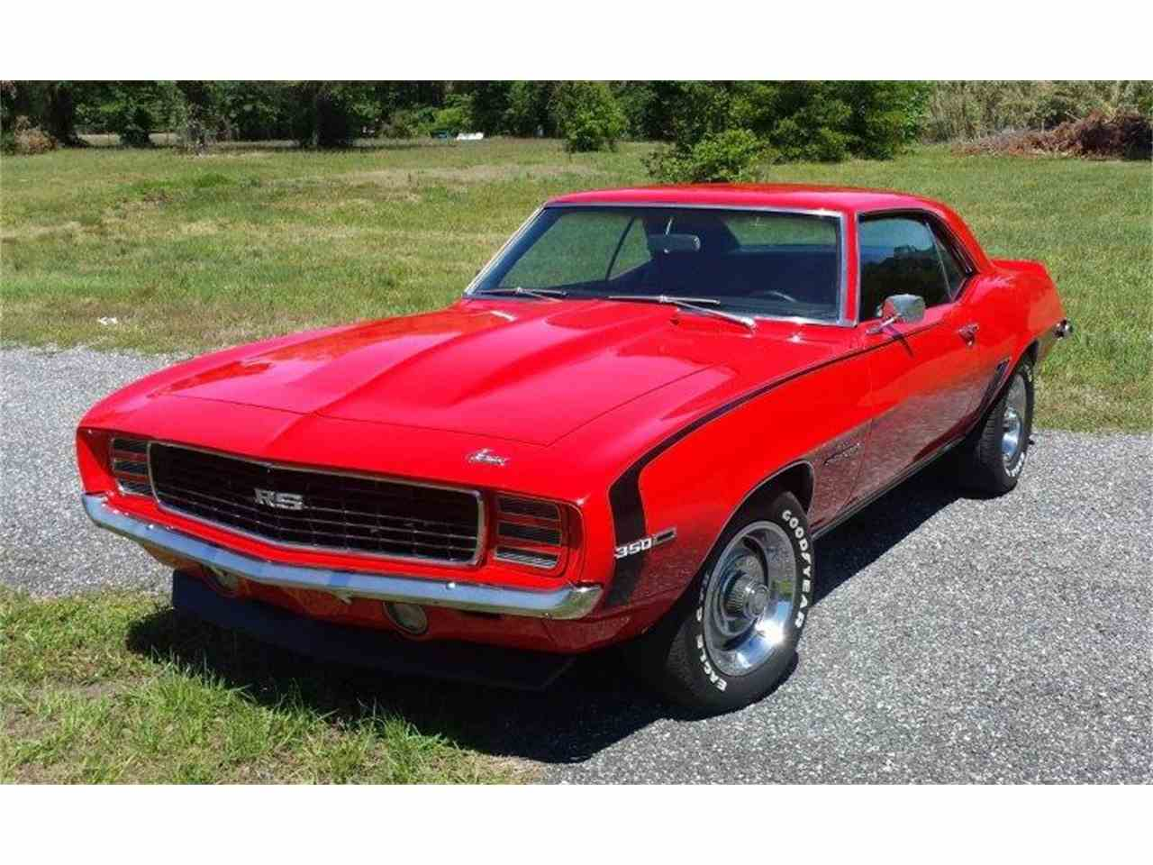 1969 Chevrolet Camaro RS for Sale - CC-1017566