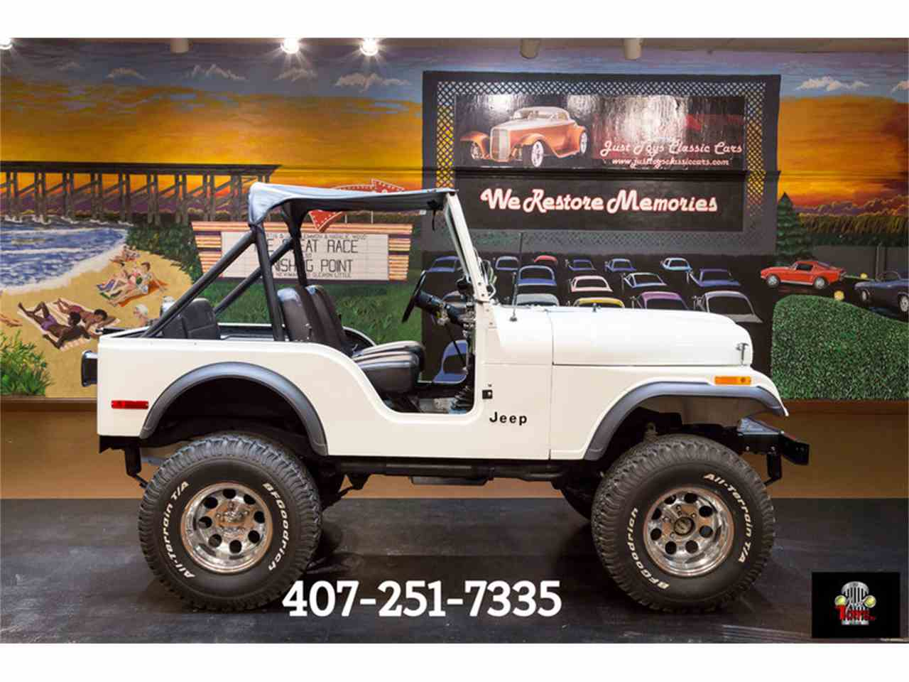 Large Picture of '77 Jeep CJ5 located in Florida Offered by Just Toys Classic Cars - LT65