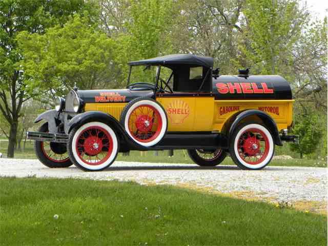 1929 Ford Model A Roadster Pickup Tribute Shell Oil Tanker | 1017658