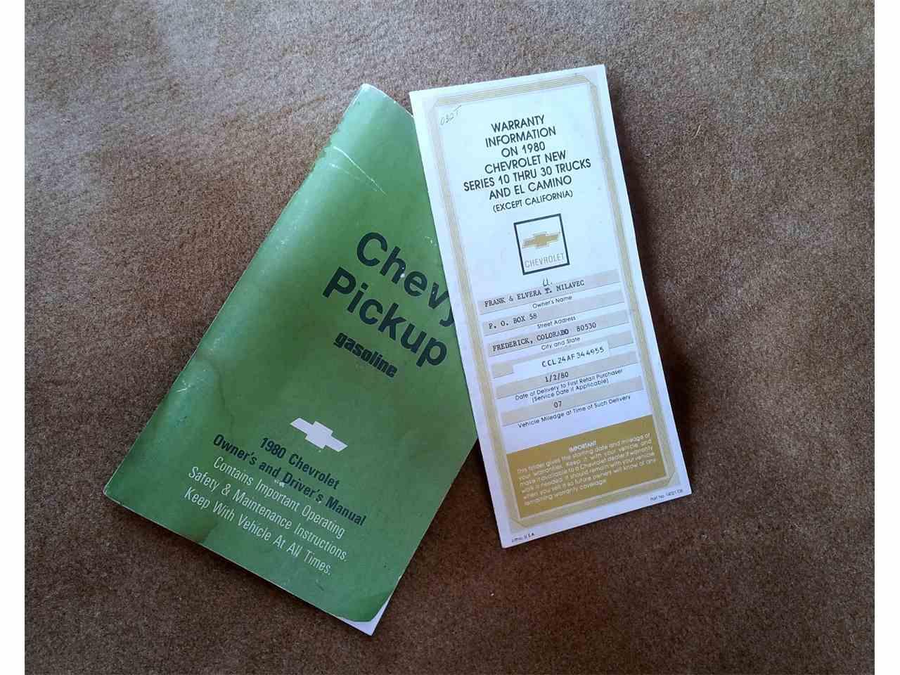 1980 Chevrolet C10 for Sale | ClassicCars.com | CC-1017661