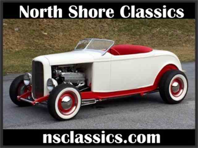 Picture of '32 Ford Roadster located in Illinois - $39,995.00 Offered by North Shore Classics - LTEY