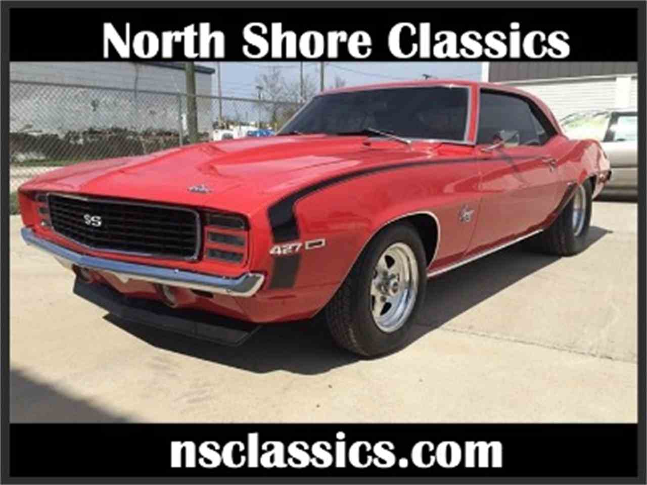 1969 Chevrolet Camaro for Sale - CC-1018095