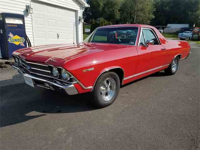 1969 chevrolet el camino for sale on 24. Black Bedroom Furniture Sets. Home Design Ideas