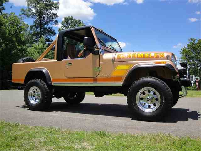 1984 Jeep CJ8 Scrambler   1018194