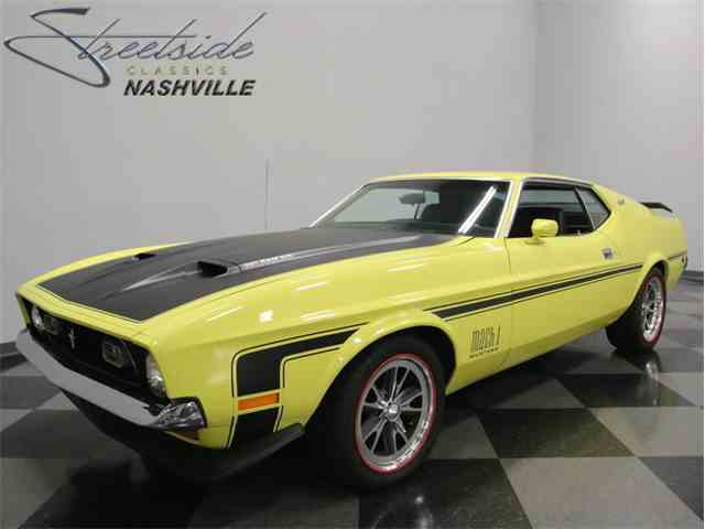 1973 Ford Mustang Mach 1 | 1018251