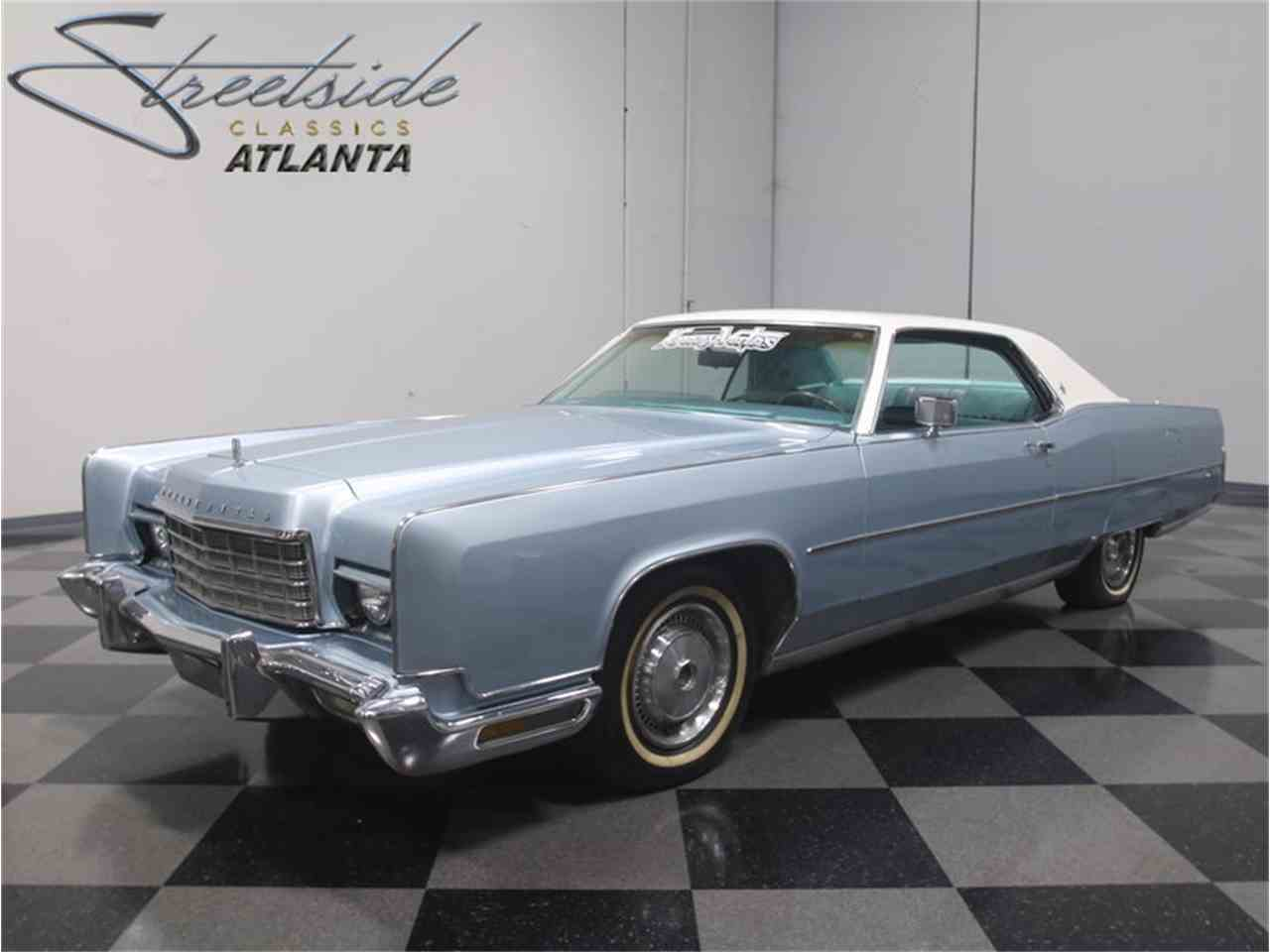 Large Picture of Classic 1973 Lincoln Continental located in Georgia - $14,995.00 Offered by Streetside Classics - Atlanta - LTQ8