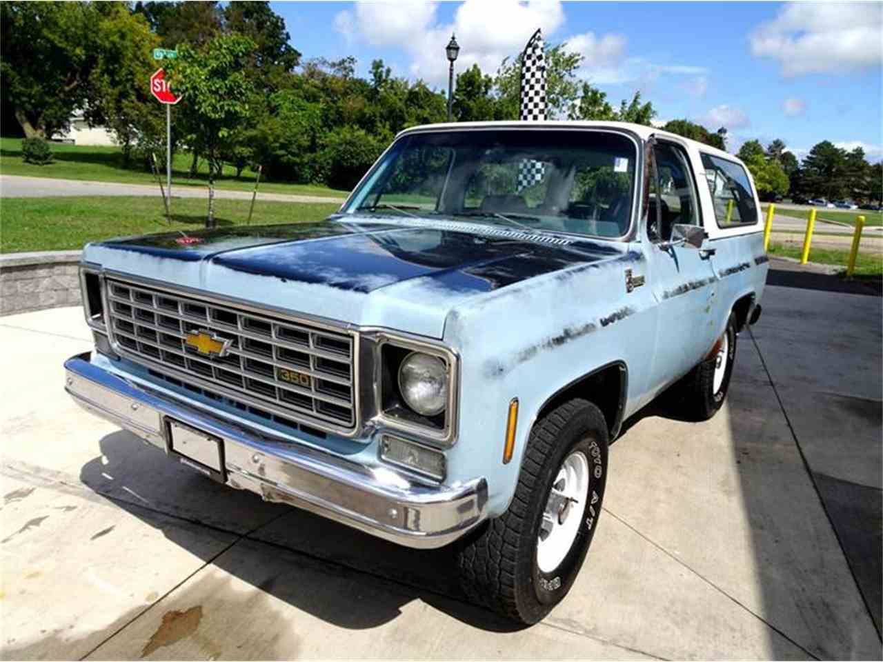 Large Picture of 1975 Blazer Offered by Great Lakes Classic Cars - LTQZ