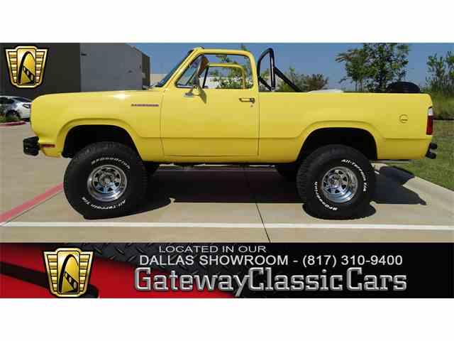 1975 Dodge Ramcharger | 1018345
